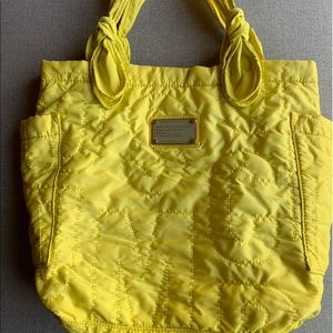 Marc by Marc Jacobs Neon Green Nylon Small Bag